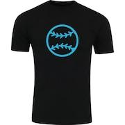 Camiseta Adams Básica Futebol - Masculina - Preto - Bola Beisebol