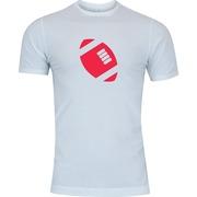 Camiseta Adams Básica Futebol - Masculina - Branco - Bola de Futebol Americano