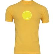 Camiseta Adams Básica Futebol - Masculina - Amarelo - Bola de Tênis Amarela