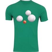Camiseta Adams Básica Futebol - Masculina - Verde - Bolas