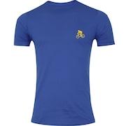Camiseta Adams Básica Futebol - Masculina - Azul - Ciclista Amarelo a3df43c3016ef