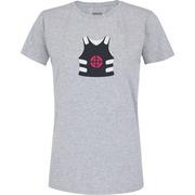 Camiseta Adams Básica Futebol - Feminina - Cinza - Colete