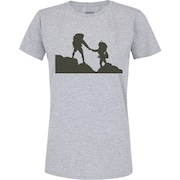 49d822d8abbe9 Camiseta Adams Básica Futebol - Feminina - Cinza - Escalada