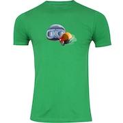 d96c91282953b Camiseta Adams Básica Futebol - Masculina - Verde - Acessórios Ski