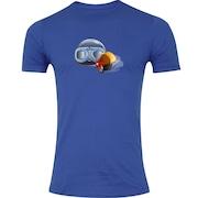 426010aa7c Camiseta Adams Básica Futebol - Masculina - Azul - Acessórios Ski