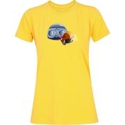 1329479b9abc1 Camiseta Adams Básica Futebol - Feminina - Amarelo - Acessórios Ski