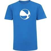 Camiseta Adams Básica Futebol - Infantil - Azul - Bola na Praia