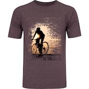Camiseta Oxer Básica - Masculina - Vinho Cinza Escuro - Bike and Sun 7510791688