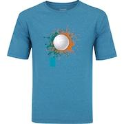 61af914ec2bf0 Camiseta Oxer Básica - Masculina - Azul Cinza Esc - Starving