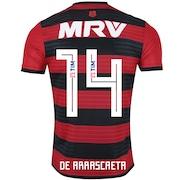 Camisa do Flamengo I 2018 adidas n° 14 De Arrascaeta - Masculina 6664dc691fed7