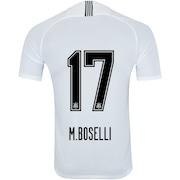 50ee3669965 Camisa do Corinthians I 2018 Nike nº 17 M.Boselli - Masculina