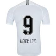 Camisa do Corinthians I 2018 Nike nº 9 Vagner Love - Masculina 82a1f1d4e79e3