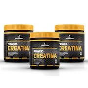 Kit 3 Power Creatina...