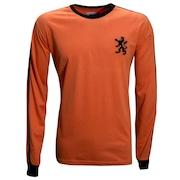Camisa Manga Longa Liga Retrô Holanda 1978 - Masculina