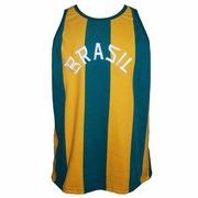 Camisa Liga Retrô Brasil Basquete 1963 - Masculina