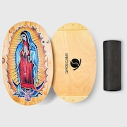 Prancha de equilíbrio Spin'O Board Classic Illustrated Santa Muerte - 75x45cm