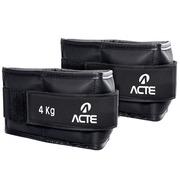 096ac5c336 Caneleira Profissional Emborrachada 4kg Preto ACTE T159