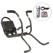 Cadeirinha para Bicicleta Altmayer AL-02 Dianteira - Infantil  + Kit Acte com Farol e Lanterna