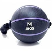 96917b995795a Bola de Peso LiveUp Medicine Ball 6Kg - com Corda - LS3006E