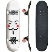 3ac890849c Skate PGS Progress Montado Profissional Anonimus - 8.0