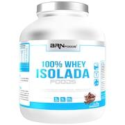Whey Protein BRN Foods 100% Whey Isolada - Chocolate - 2Kg