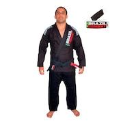 Kit Brazil Combat com Kimono Jiu Jitsu Xtra Lite + Faixa Jiu Jitsu - Masculino