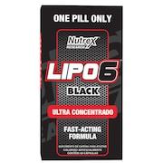 Pré-Treino Nutrex Lipo 6 Black Ultra Concentrado - 60 Cápsulas