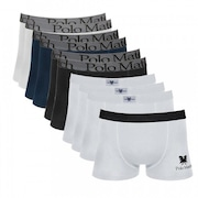 78f204d00 Kit Cueca Boxer de Cotton Polo Match II - 10 Unidades - Adulto