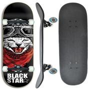 26a26cd3b375f Skate Black Star Cat 7.8 Profissional
