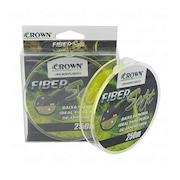 Linha de Pesca Monofilamento Crown Fiber Soft - 0,31mm - 19lb - 250m