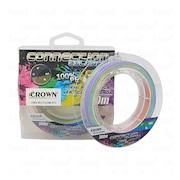 Linha de Pesca Multifilamento Crown Connection Colorful 9X - 0.28mm - 50lb - 300m