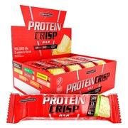 Barra de Proteína Integralmédica Protein Crisp Bar - Torta de Limão - Caixa com 12 Unidades