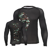 Rash Guard Manga Longa Venum Giant Camo - Adulto