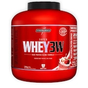Whey Protein Integralmédica Super Whey 3W - Morango - 1800g