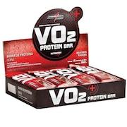 Barra de Proteína Integralmédica VO2 PROTEIN BAR Morango - 12 unidades de 30g