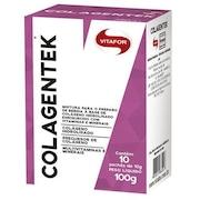 Colágeno Vitafor Colagentek - Laranja com Acerola - 10 Sachês