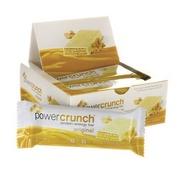 Barra de Proteína BNRG Power Crunch - Creme de Amendoim - Caixa com 12 Barras