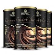 cbc14c81a Whey Protein Essential Nutrition Cacao Whey - 4 Unidades com 450g Cada