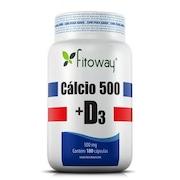 Cálcio Fitoway 500 +...