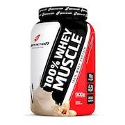 Whey Protein BodyAction 100% Whey Muscle - Baunilha - 900g