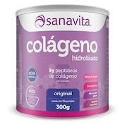 Colágeno Hidrolisado Sanavita - Original - 300g