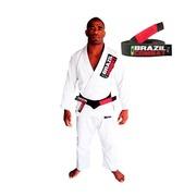 Kimono Jiu Jitsu Brazil Combat Starter - Adulto + Faixa de Graduação