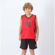 Camiseta Regata do Flamengo Braziline Victory - Infantil 197ddfbb389df