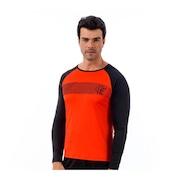 Camisa Manga Longa do Flamengo Braziline Zone ML - Masculina