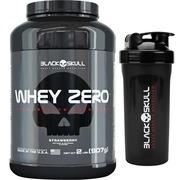 2fceed9ac6 Whey Protein Black Skull Whey Zero - Morango - 907 g + Coqueteleira