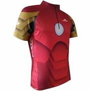 Camisa de Ciclismo Invicto Homem de Ferro - Masculina baf31cc2449ed