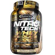 Whey Protein Isolado Muscletech Performance Series Nitro Tech Gold - Vanilla Bean - 907g