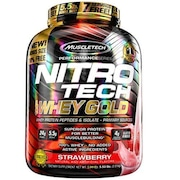 Whey Protein Muscletech Performance Series Nitro Tech Gold - Strawberry - 2,51kg