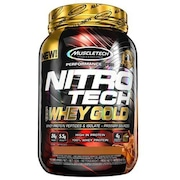 Whey Protein Muscletech Performance Series Nitro Tech Gold - Chocolate Caramel Brownie - 999g
