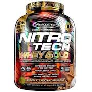 Whey Protein Muscletech Performance Series Nitro Tech Gold - Chocolate Mocha Cappuccino - 2,51kg